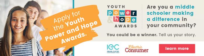 Apply now for the Youth Power and Hope Awards.
