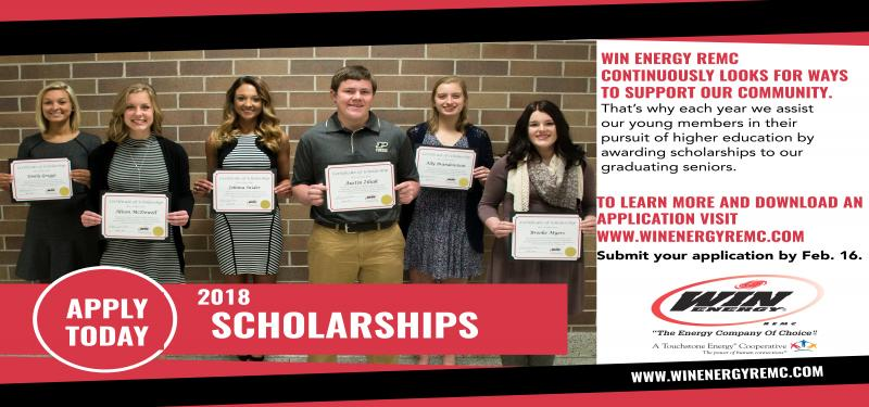 Apply Now for Scholarships